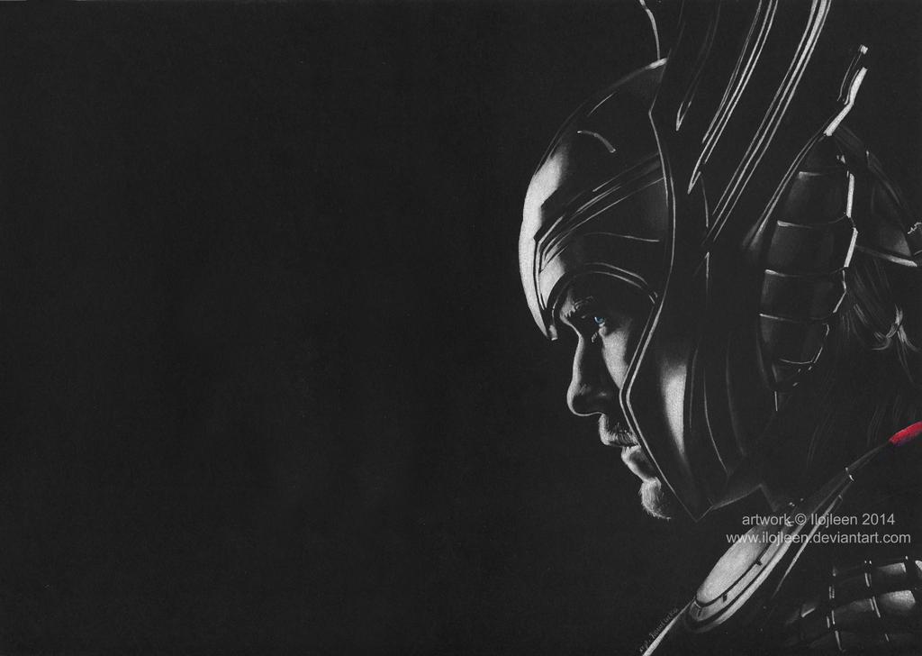 Thor (Chris Hemsworth) by Ilojleen
