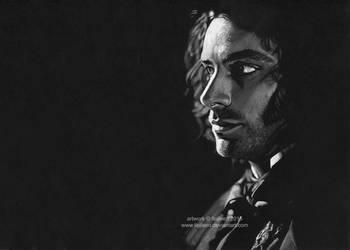 Dante Gabriel Rossetti (Aidan Turner) by Ilojleen