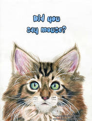 Did you say mouse?