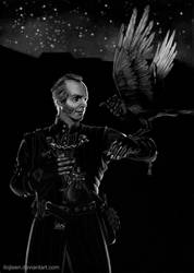The raven whisperer - Emiel Regis by Ilojleen
