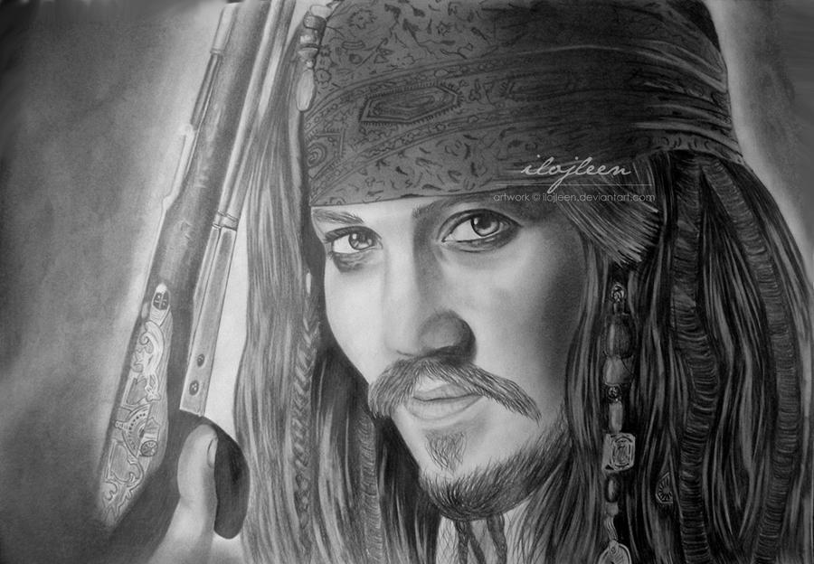 Jack Sparrow 02 by Ilojleen