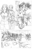 Prince of Power 2 2 pencils by ReillyBrown