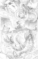 Prince of Power 2 6 pencils by ReillyBrown