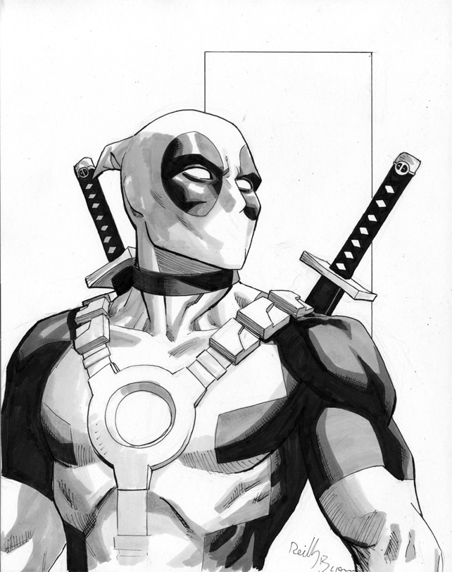 Deadpool Up For Auction By ReillyBrown ...