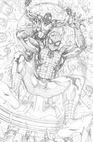 Amazing Spider-Man 553 1 by ReillyBrown