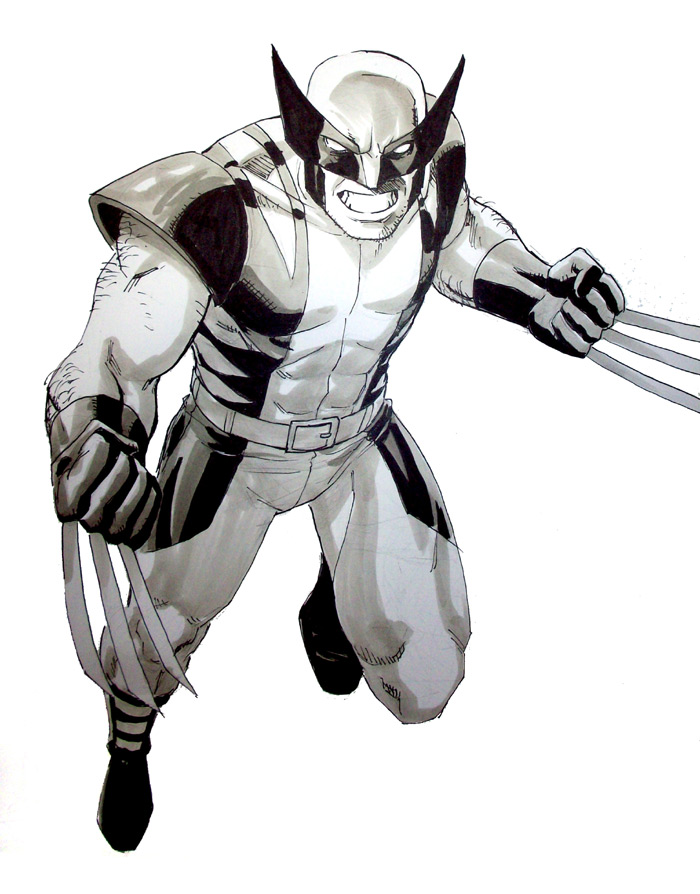 Wolverine SDCC2011 by ReillyBrown