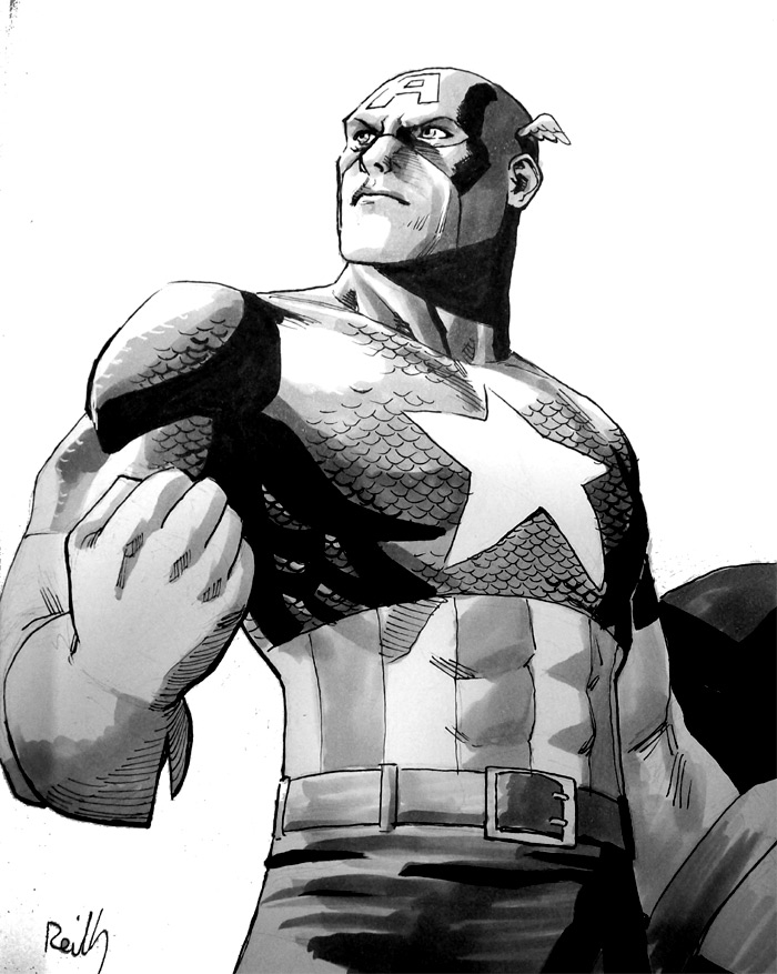 Captain America from SDCC by ReillyBrown