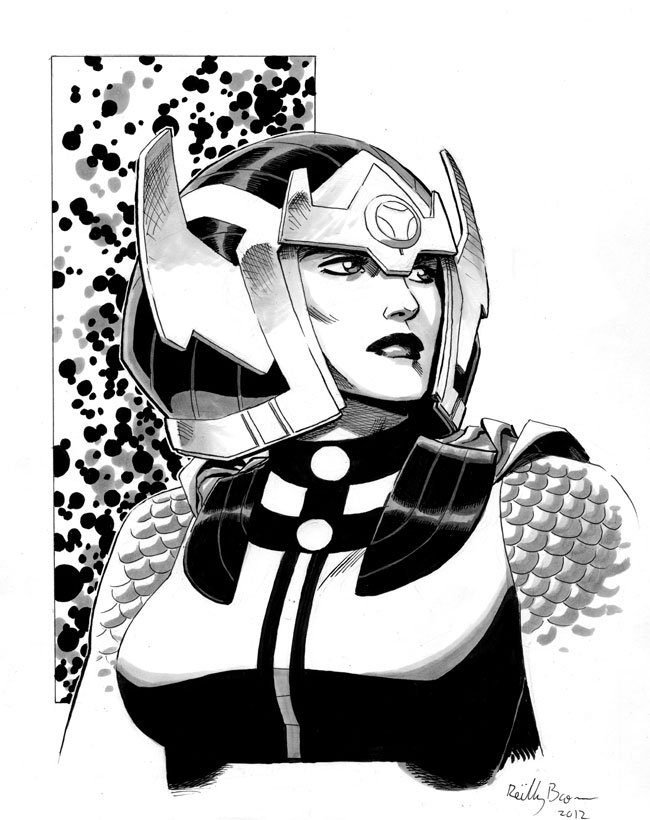 Big Barda by ReillyBrown