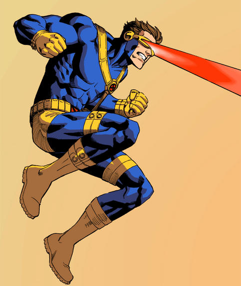 Cyclops Animated by ReillyBrown on DeviantArt