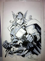 Thor SDCC 2013 by ReillyBrown