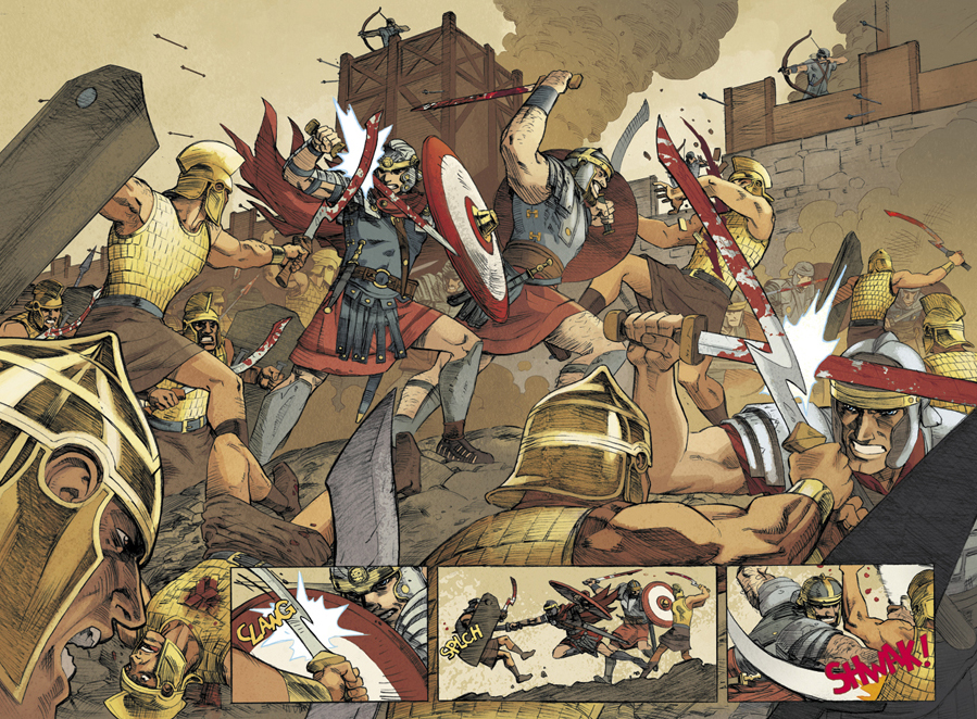 Romans Clash-- Saint George by ReillyBrown