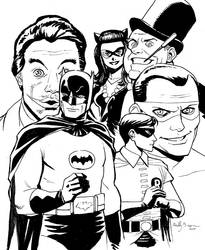 Batman 66 by ReillyBrown