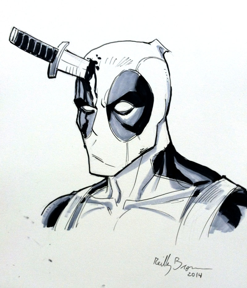Deadpool by ReillyBrown