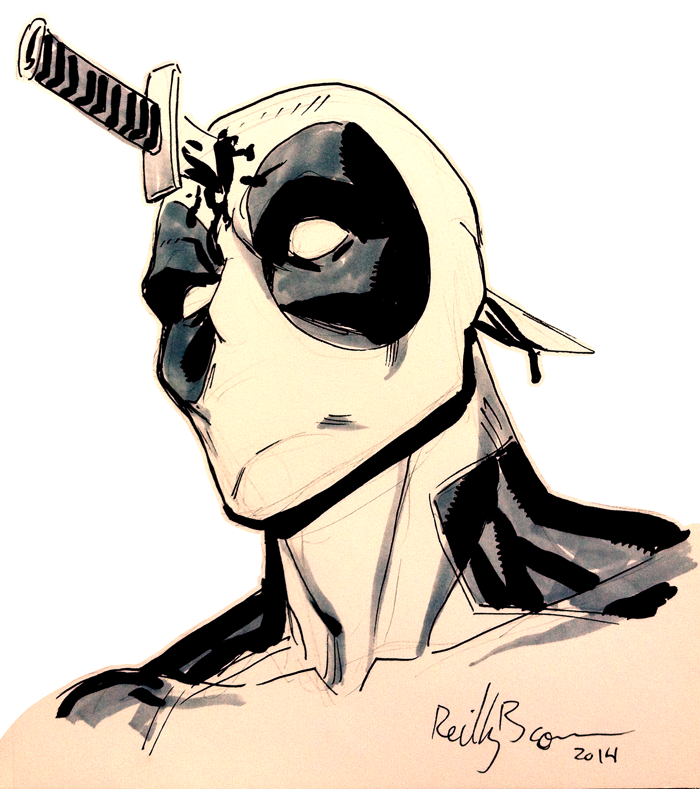 More Deadpool by ReillyBrown