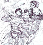 Lobo vs Superman