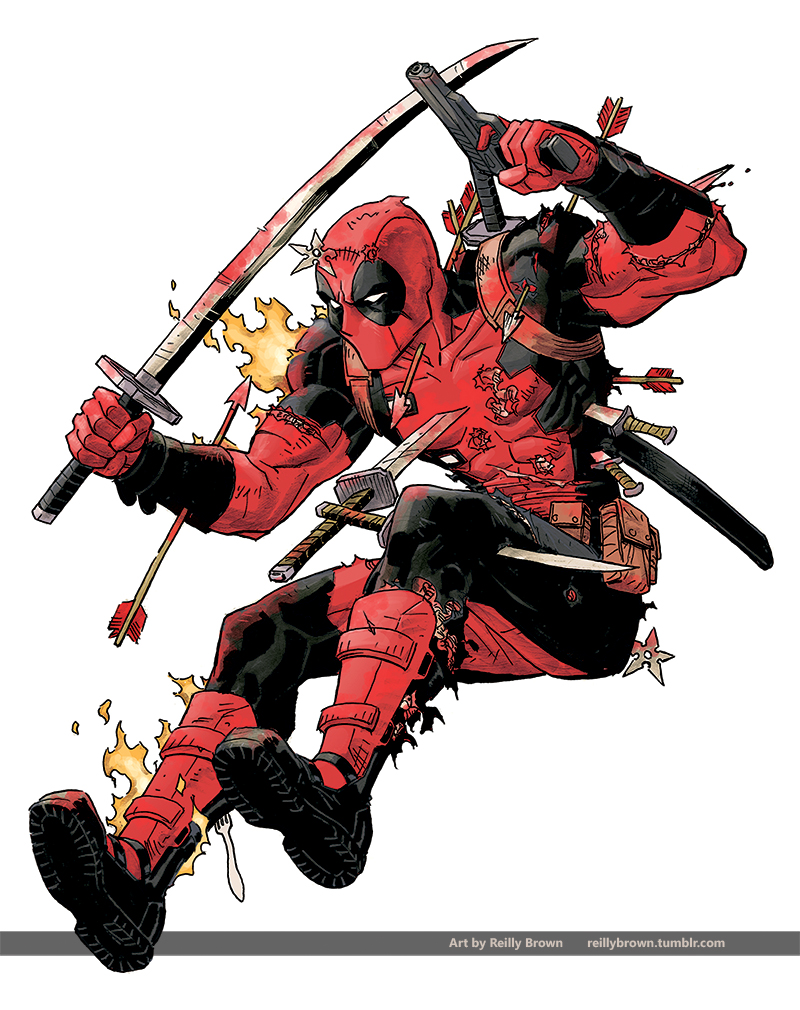 Deadpool! by ReillyBrown