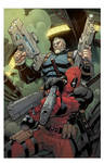 Deadpool and Cable Split Second