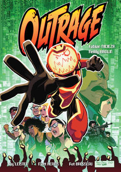 OUTRAGE GN cover!