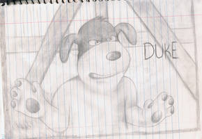 Duke from Back at the Barnyard by Pilx