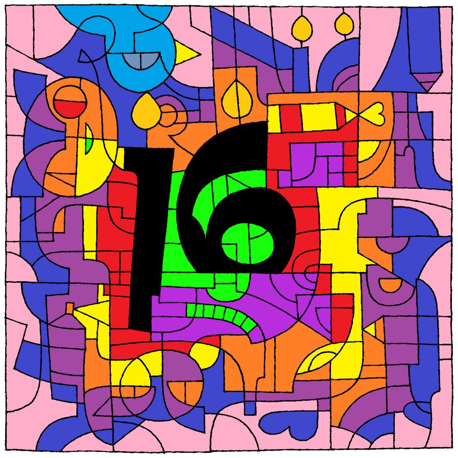 16th birthday by DarkDragon88