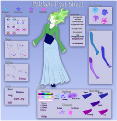 Pakkeli Trait Sheet by Crystalomic