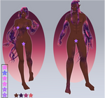 Pakkeli Cosmic Twins Adoptable Raffle: closed by Crystalomic