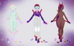 Purple Rainbow Pakaasu Adoptables: OTA OPEN by Crystalomic