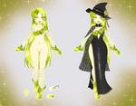 Pakaasu Witch Adoptable: OTA OPEN by Crystalomic