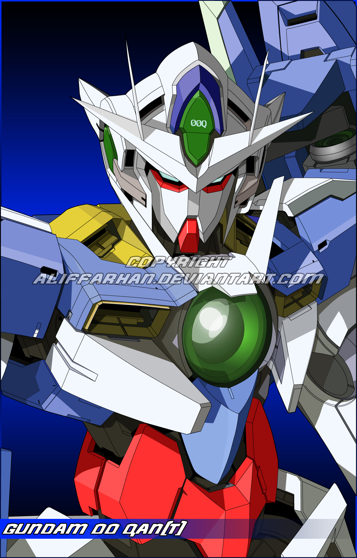 Gundam 00 fan art