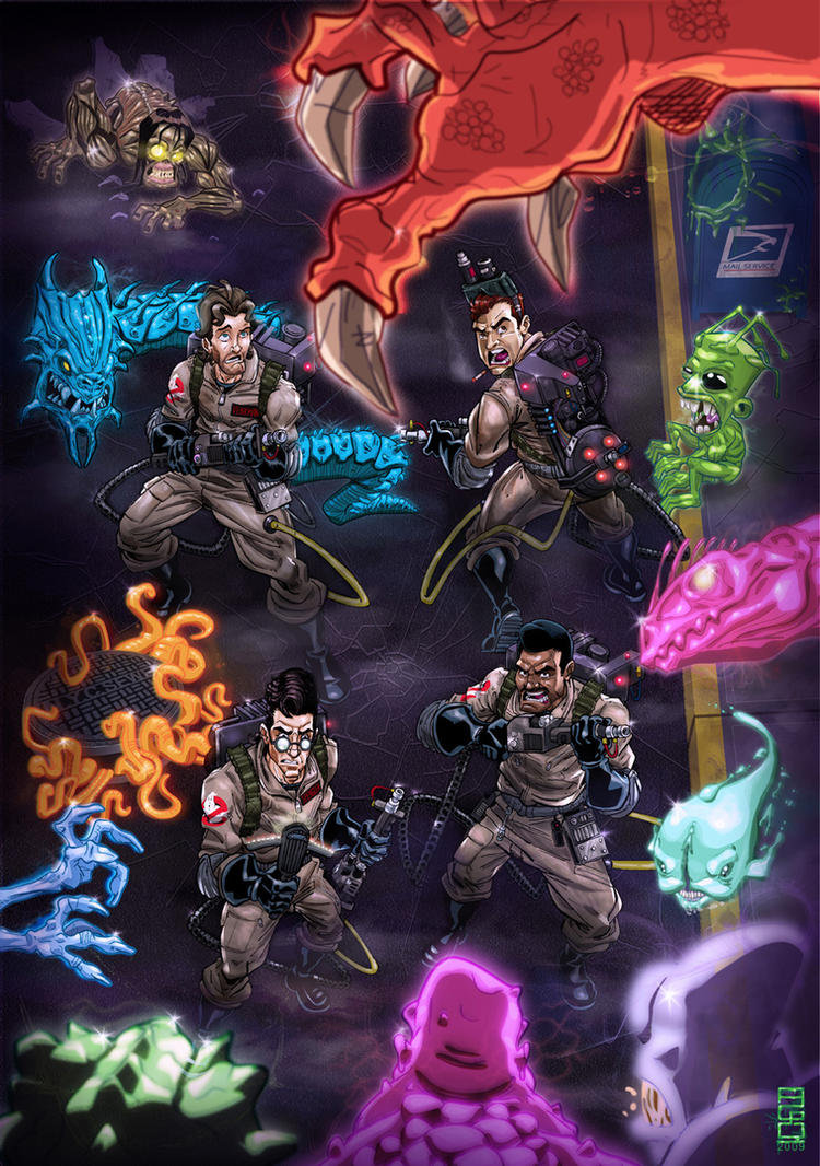 The more Real Ghostbusters by alexmax