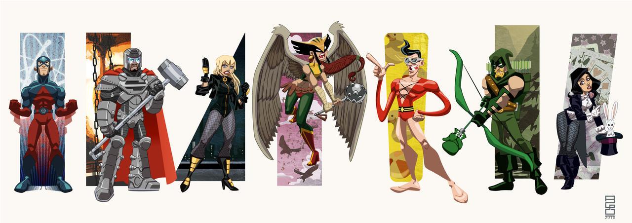 DC Universe Vol2: JLA Reserves by alexmax