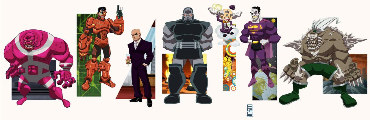 DCU Vol6: Super Villains by alexmax