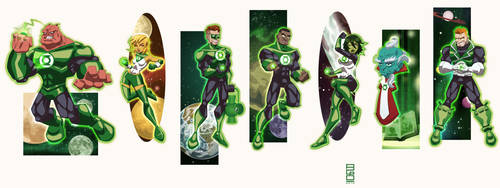 DCU Vol.9: Green Lantern Corps by alexmax