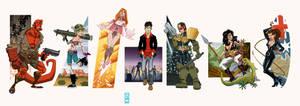 Indie Comics Lineup 1