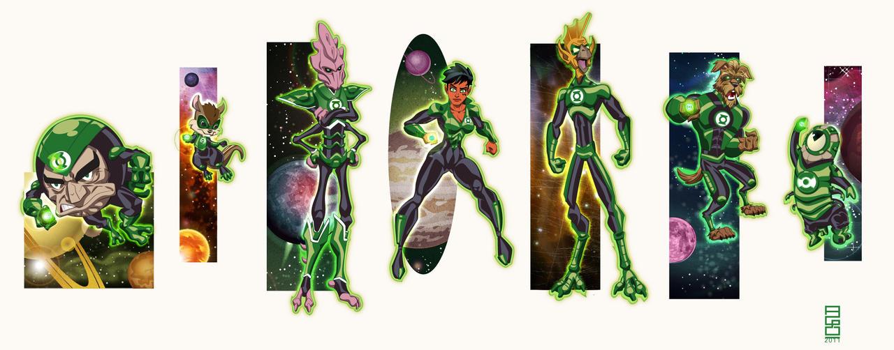 DCU Vol.13: More Lanterns by alexmax
