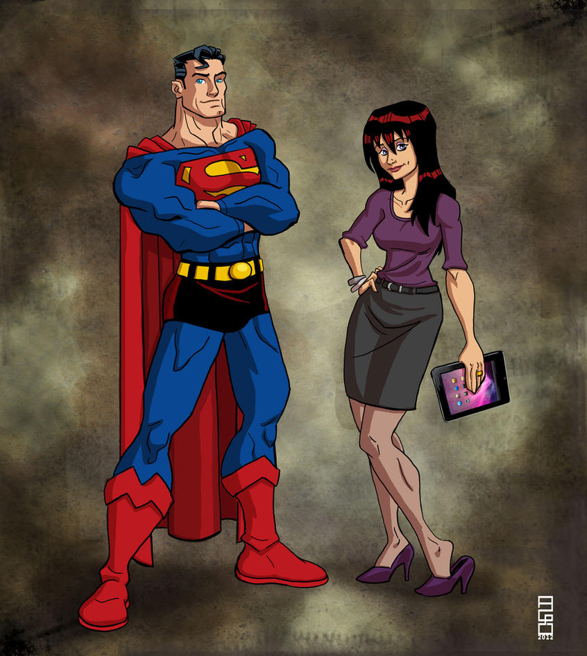 Superman and Lois by alexmax
