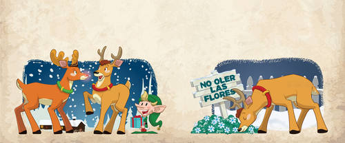 A Tipsy Reindeer by alexmax