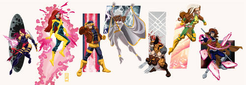 Marvel Universe Vol.2: X-Men by alexmax