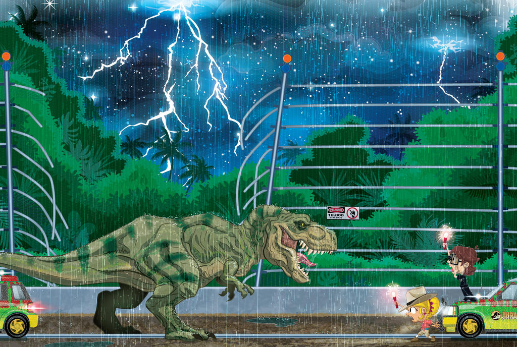 Jurassic Park Tribute A By Alexmax On DeviantArt