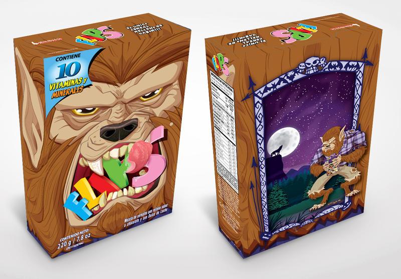 Flips Halloween Werewolf by alexmax