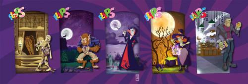 Flips Halloween Characters
