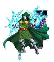 Doctor Doom by alexmax