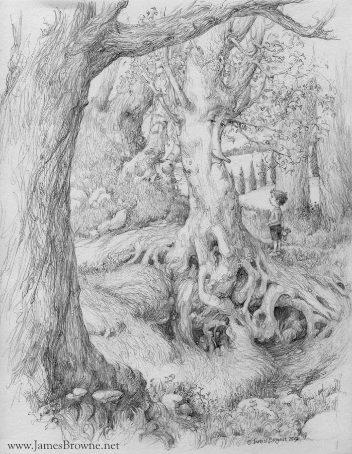 Noah and the Tree by yaamas