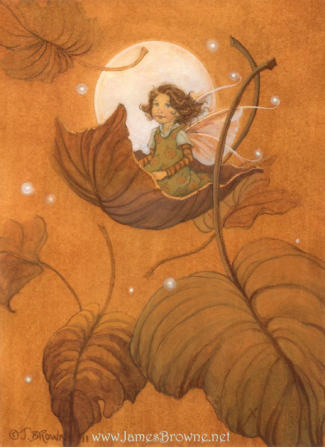 Autumn Fairy by yaamas