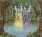 Moonlight Fairy King and Queen