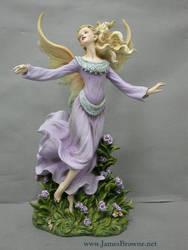 Meadow Faery Figurine II by yaamas