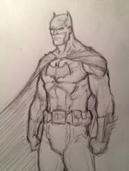 Batman Warm Up by PhilipSasko