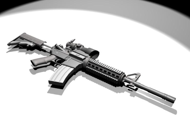 M4a1 Carbine Assault Rifle Wallpaper | www.imgkid.com ...