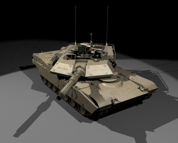 M1A3 Abrams Tank by OutcastOne
