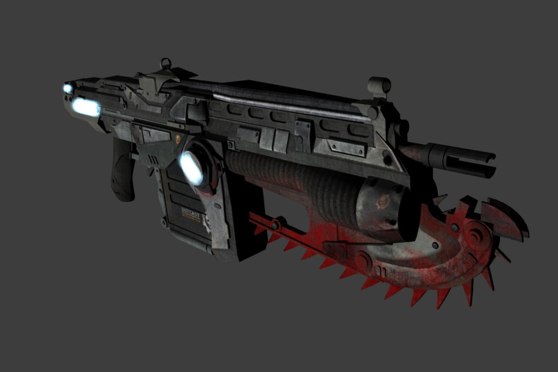 The Mark 2 Lancer Assault Rifle created by Epic Games | Sound ...